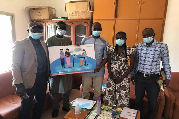 Au Sénégal : la COSC GFF s'investit dans la continuité des services de   SRMNEA-N malgré la Covid-19